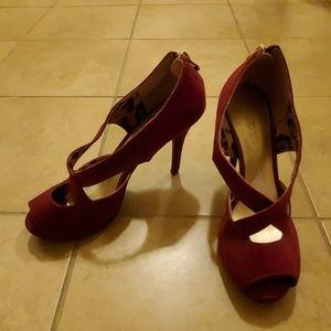 "Cute Christian Siriano 4"" Peep-toe Heels"